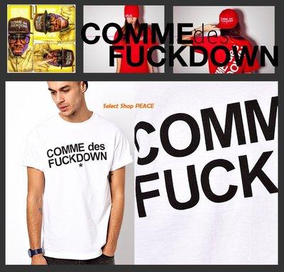 COMME des Fuckdown 美國【現貨】S/L號 Russ Produce T恤