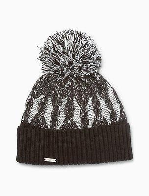 Calvin Klein CK PLAITED CABLE 毛帽