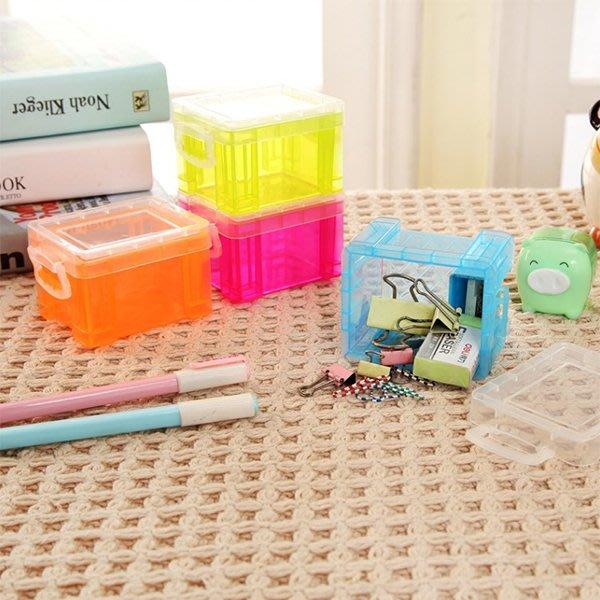 文具 桌面小雜物收納盒 約7x6x5cm  書桌擺設 收納用品 小文具 零錢盒 化妝品 置物盒【PMG810】收納女王