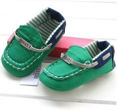 『※妳好,可愛※』寶貝學步鞋~Next 帆船風學步鞋,寶寶鞋 嬰兒鞋