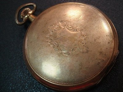 【小斑馬的家】古玩 Waltham  華爾頓  古董懷錶 一只...((起標價即直購價))