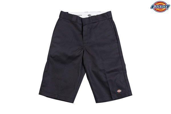 DICKIES WR640 13吋 斜紋布口袋工作短褲 BK 黑