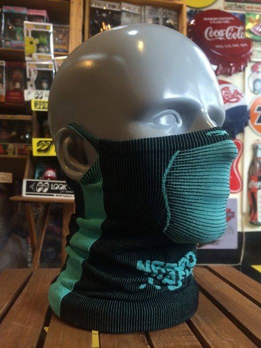 (I LOVE樂多)Naroo Mask湖水藍長版X5騎行運動 面罩 單車 哈雷 越野 滑胎 偉士 VESPA Cafe