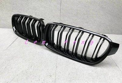 涔峰CF☆(亮黑)BMW F30 F31 3系 水箱護罩 水箱罩 雙槓水箱護罩 M3水箱罩 水箱飾條 水箱鼻頭 320