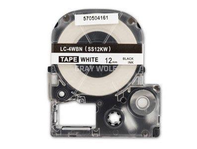 ~天辰3C~板橋 EPSON相容性副廠12mm 白底黑字 黃底黑字 標籤帶 比  顏色 請