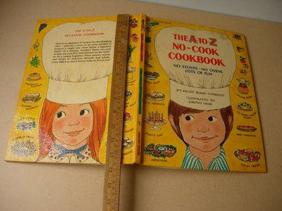 THE A TO Z NO-COOK COOKBOOK  絕版珍藏英文書籍