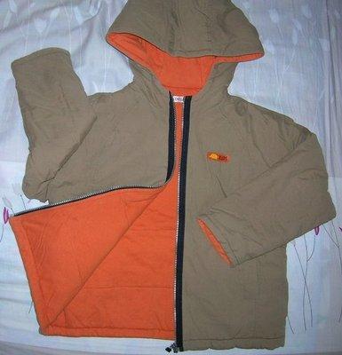 一元起標~麗嬰房 Les Enphants 厚鋪棉外套 size:8