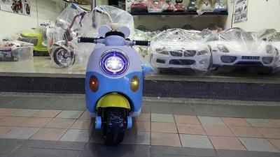 ~零售 ~類米奇兒童機車 藍 迷你機車 兒童電動跑車 49CC汽油 電動車 滑板車 模型