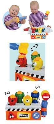 ☆天才老爸☆→美國【K's Kids 奇智奇思】Under Construction!  趣味工程隊(含有電池)→布書