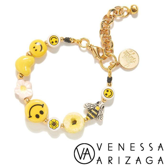 Venessa Arizaga IT'S BLISS BRACELET 甜甜圈X愛心X花朵X蜜蜂X笑臉手鍊