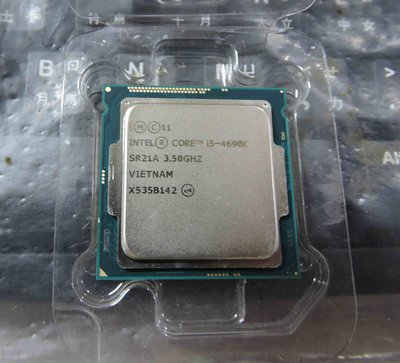 正式版 Intel Core i5-4690K LGA 1150 CPU