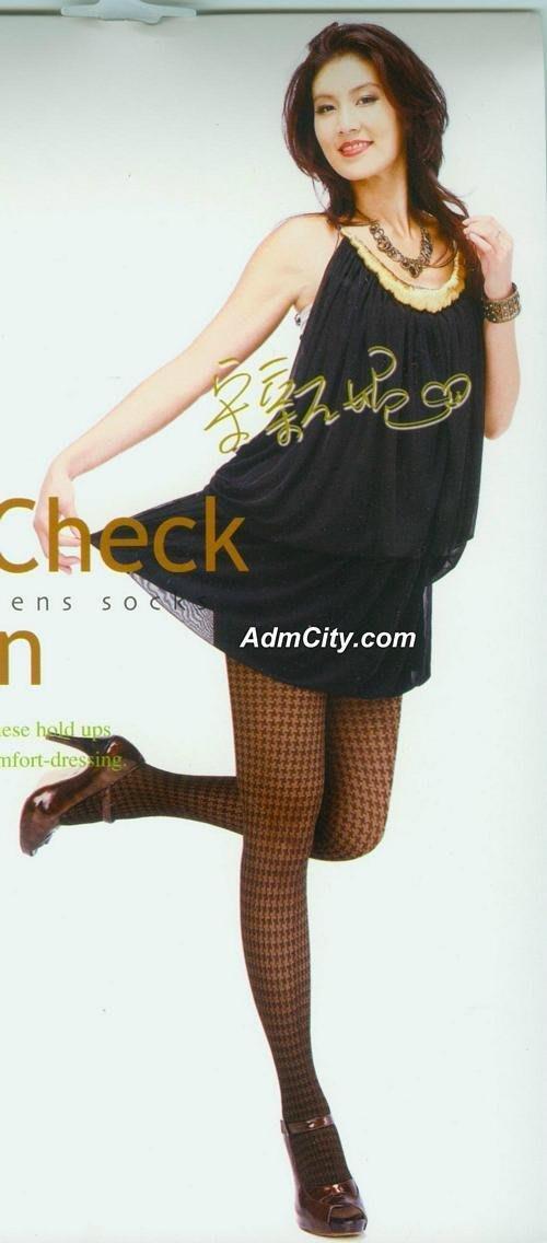 宋新妮代言性感褲襪, 超彈性設計尺寸適身高150到 黑色 Y3186012