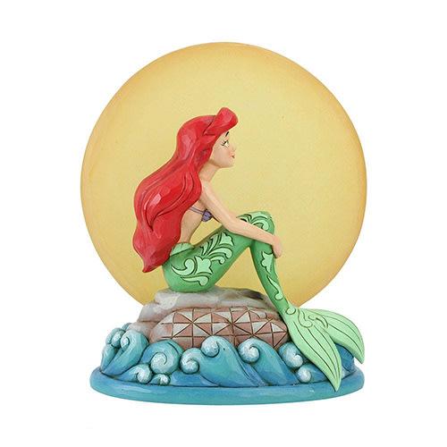 🗽Dona美國代購🗽預購 Enesco 迪士尼小美人魚愛麗兒看月亮 塑像 公仔擺飾裝飾