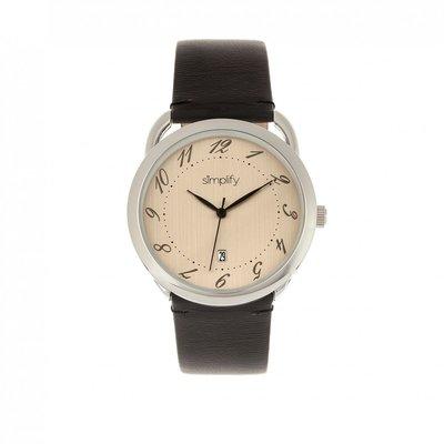 Simplify The 4900 41mm Quartz Watch 男裝石英皮帶手錶 全新現貨正品