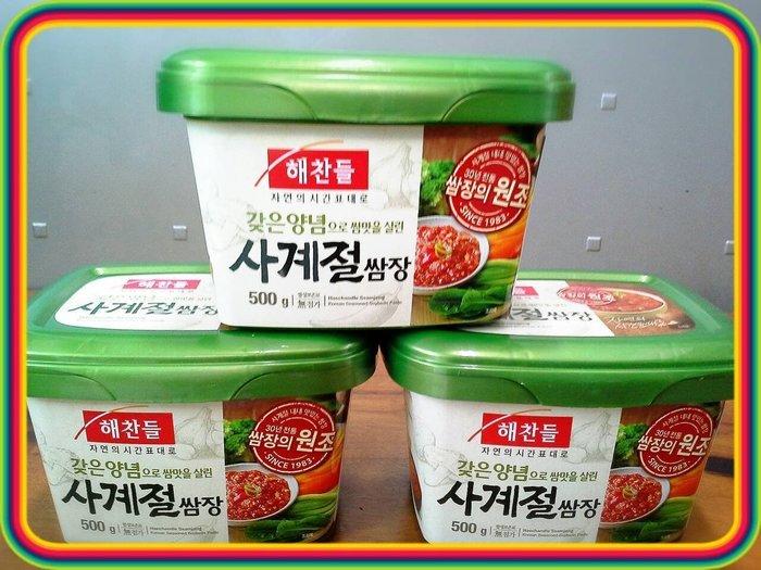 新到貨  韓國進口 生菜醬(烤肉用沾醬) 500g 特價120元(烤肉沾超讚)