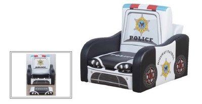 【幼兒警車可儲物小沙發 】幼兒園、托嬰中心、桌椅、幼兒、收納、寶貝椅、防撞安全、嬰幼兒