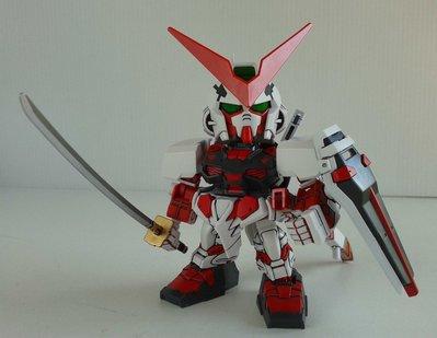 BANDAI~SD GUNDAM EX-STANDARD GUNDAM ASTRAY RED FRAME 紅色異端 BB