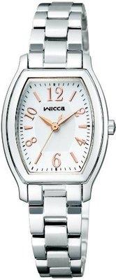 日本正版 CITIZEN 星辰 WICCA KH8-713-11 女錶 女用 手錶 太陽能充電 日本代購