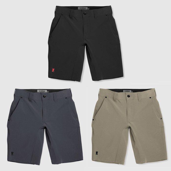 { POISON } CHROME FOLSOM SHORT-S 2.0 高耐力四面伸縮彈性 立體剪裁 速乾面料 短褲