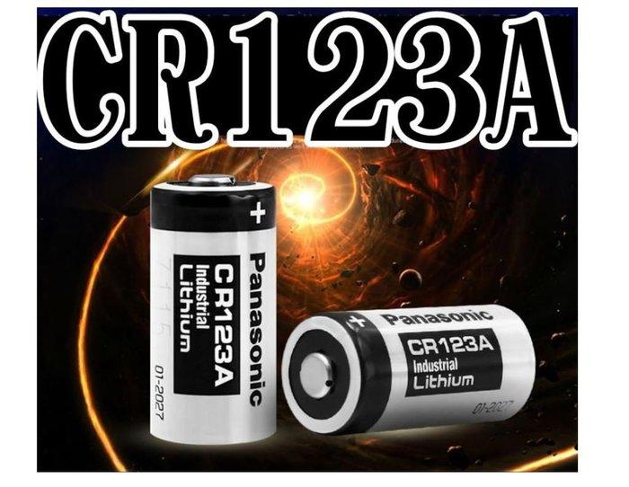 全新日本松下 Panasonic CR123A 拍立得相機電池.Mini25電池 國際牌K123LA.EL123AP