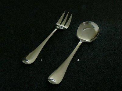 【無敵餐具】台製素面不銹鋼服務匙/叉(215mm/220mm) 1打12入 量多可來電洽詢優惠價喔【G0047】
