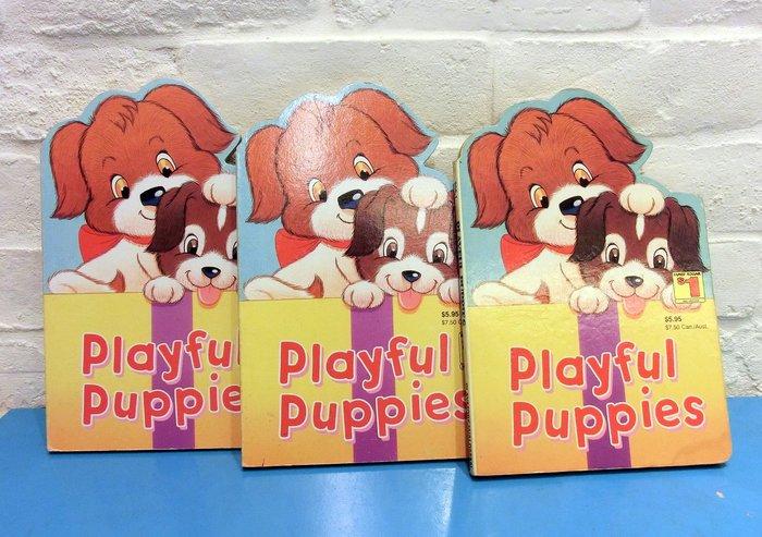 *【~0-3歲寶寶繪本】*小pen外文童書~~可愛狗狗造型書
