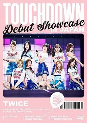Twice debut showcase touchdown in Japan 日本版 2 dvd 訂