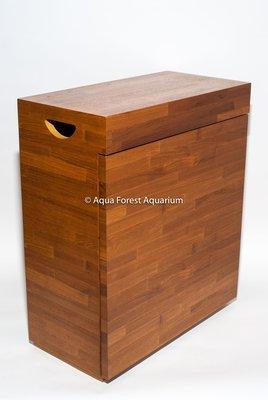 ◎ 水族之森 ◎ 類 ADA ( ADA 60P 專用 ) 精緻木皮櫃  NEW DESIGN   柚木色 積層木木皮紋