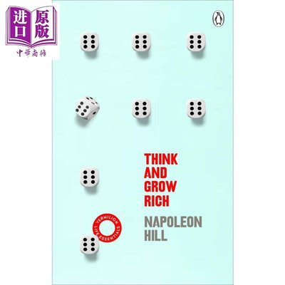 Think And Grow Rich (Vermilion Life Essentials) 英文原版 思考致富 Na