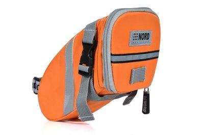 【NORD】Castledale 自行車特式座墊(坐墊)/車尾 包/袋(大碼)-螢光橘 (RB058B) 免運