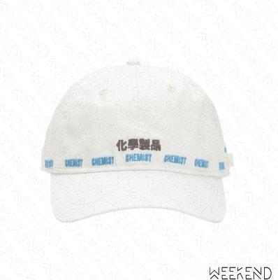 【WEEKEND】 C2H4 Workwear Chemist 化學製品 帽子 棒球帽 潮帽 白色