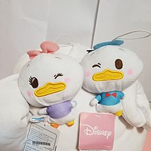Disney Donald & Daisy  公仔一對