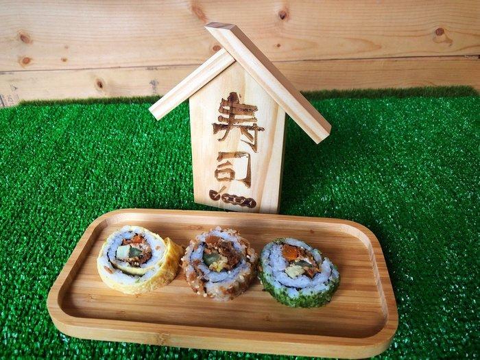 竹藝坊-日式料理菜單牌/壽司名牌/木製造型/(內容及刻字內容可調整)
