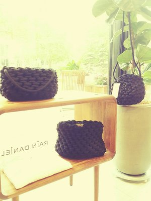[ RainDaniel ] ALIENINA 義大利小眾品牌 Anne Cotton Bucket 有機棉 手工編織包