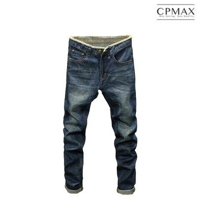 CPMAX 復古修身直筒牛仔褲 大尺碼牛仔褲 直筒褲 牛仔長褲 直筒牛仔褲 修身牛仔褲 牛仔褲 男牛仔長褲 J63