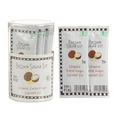 純有機椰子油 隨身包 方便攜帶 每天體內營養 為健康加分! 咖啡+椰子油=「防彈咖啡」,生酮飲食的必備聖品