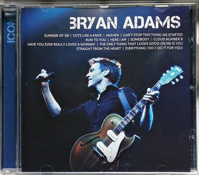 Bryan Adams - Icon 布萊恩亞當斯:經典 二手德版
