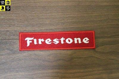 (I LOVE樂多)經典布章 Firestone火石 鋸齒胎  複古老味