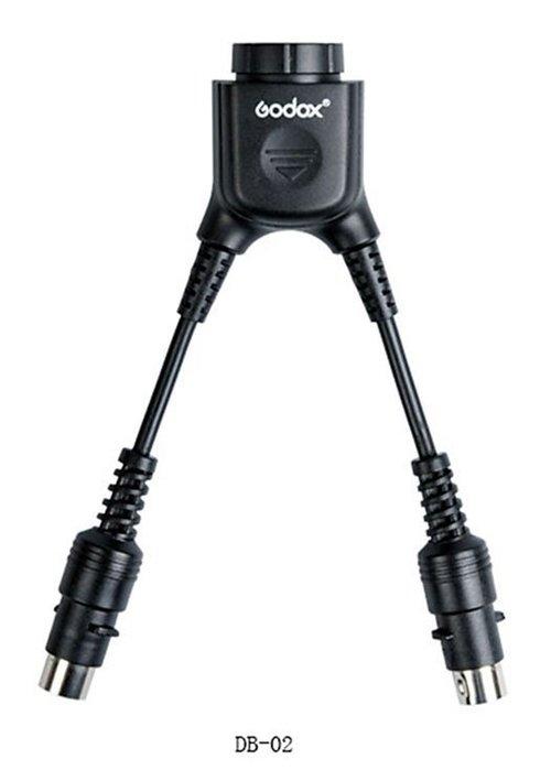 呈現攝影-GODOX 倒Y字型PB電瓶連接線-2合1電瓶插座 加速回電 AD-360 PB-960 閃光燈 離機閃