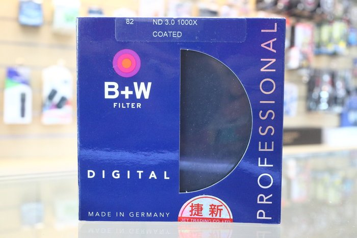 【日產旗艦】德國 B+W F-Pro 82mm ND110 ND1000 ND 3.0 減光鏡 減10格 捷新公司貨