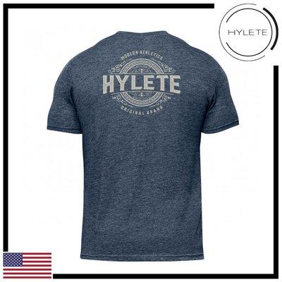 ►瘋狂金剛◄ 海軍藍 HYLETE distilled tri-blend crew tee 短袖T恤