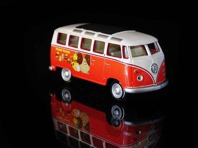 C-18 櫃 現狀品 : 1/72 多拿滋 甜甜圈 VW T1 SUMBA BUS MISTER DONUT 富貴玩具店