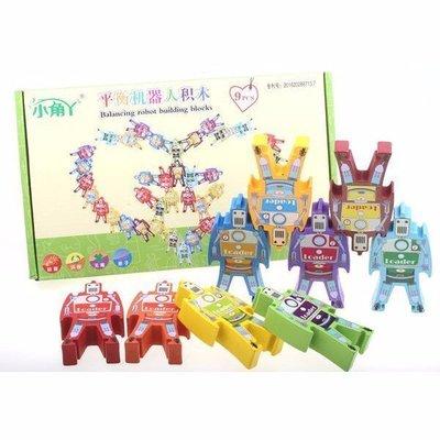 佳佳玩具 ----- 機器人平衡 木製...