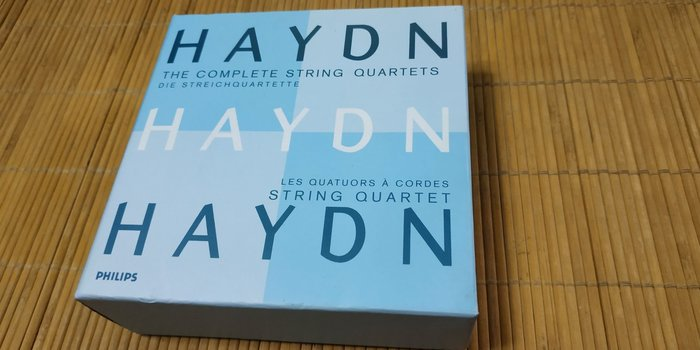 好音悅 Haydn 海頓 弦樂四重奏全集 21CD 安吉利斯弦樂四重奏 Philips 德EDC版 464650-2