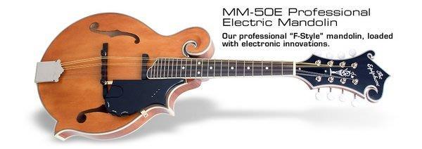 ☆ 唐尼樂器︵☆ Epiphone MM-50E Professional 專業級電曼陀林 Mandolin(附硬盒)
