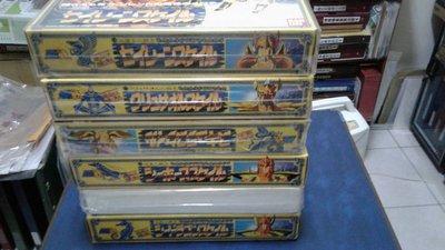 聖鬥士星矢-日版聖衣大系 海鬥士6盒(無缺件) 附原版說明書