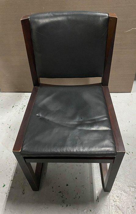 台中二手家具買賣 推薦 西屯樂居 F0406EJ 胡桃餐椅 洽談椅 電腦椅 書桌椅 會客椅 2手各式家具拍賣