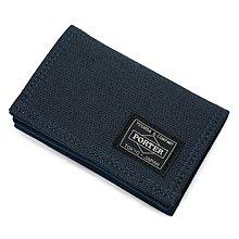 momo日本製PORTER TOKYO JAPAN男裝名片套business card case藍色中性名片夾八達通卡片套navy咭片套holder禮物gift