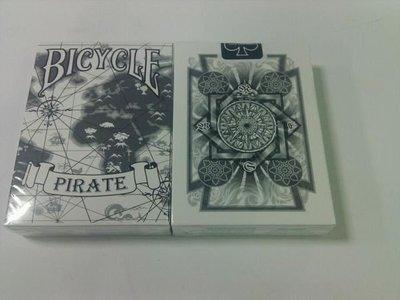 撲克牌BICYCLE Pirate 海盜 白色