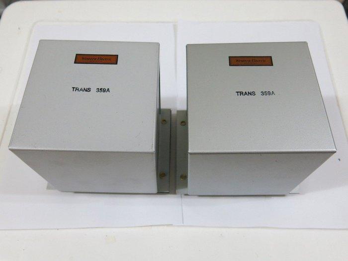 WE Western Electric 西電359A復刻電源變壓器一對(300B 91電路用)